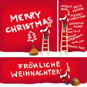 Merry Christmas wünscht pulsschlag network