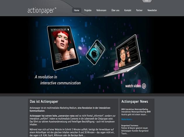 Homeseite Actionpaper GmbH